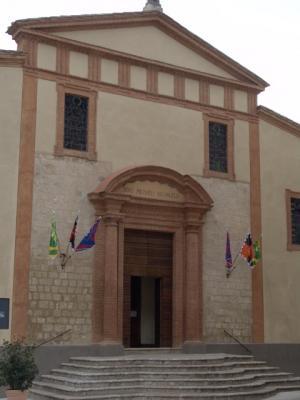 Das ist das Rathaus von Città della Pieve