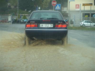 Hilfe, da ist ja jede Menge Wasser!