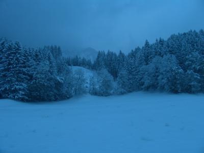 Der erste Schnee im Winter 06/07 ist da!