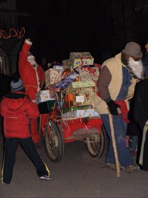 der Babbo Natale - der Weihnachtsmann