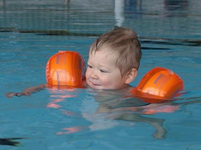 Schwimmen macht Spass