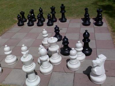 Und fertig ist die Schachpartie