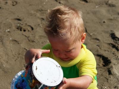 Ich bau eine Sandburg