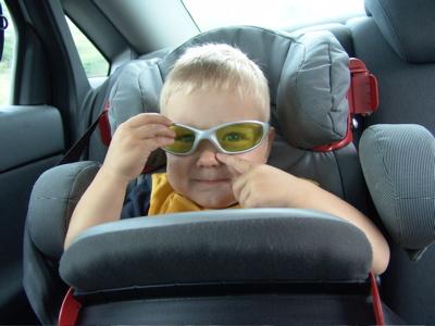 Cool mit meiner Sonnenbrille