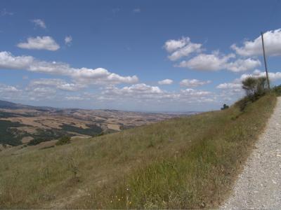 Tolle Aussicht von der Azienda