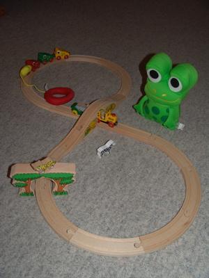 Meine Brio Holzeisenbahn