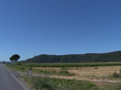 Strahlend schönes Wetter in der Toskana