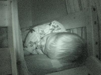 Ich schlafe wie ein kleines Engelchen