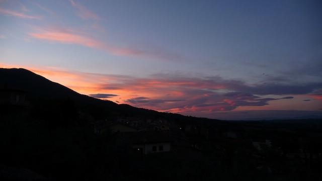 Wie schön der Himmel doch gemalt ist