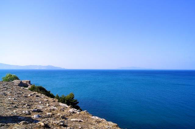Il mare a Talamone