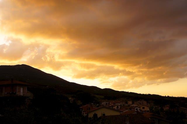 Che bel tramonto!