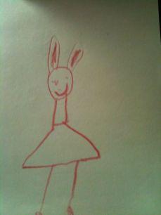 Un disegno di Yves