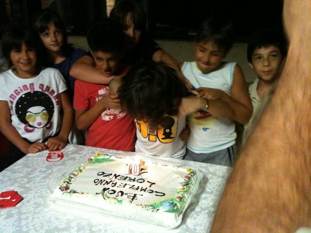 Il compleanno del mio amico Lorenzo