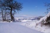 Com'è bella la Toscana sotto la neve