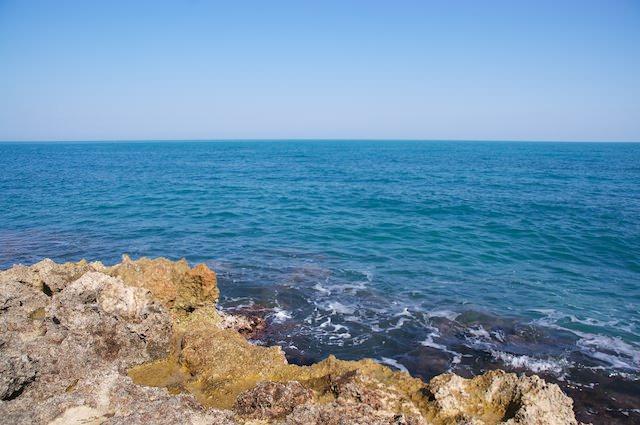 Ed ecco - anche il mare della Puglia