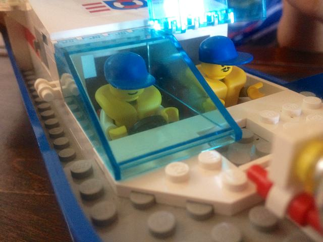 Bellissima nave di LEGO