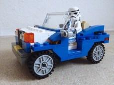Allo Stormtrooper piace la jeep
