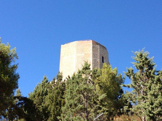 La rocca di Rocca d'Orcia