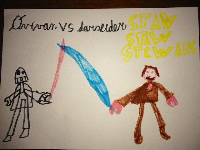 Obi Wan vs. Darth Vader