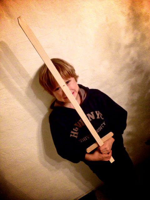 Yves ci presenta la sua nuova spada