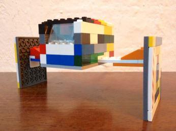 Il Tie-Fighter di LEGO® di Yves e fico!