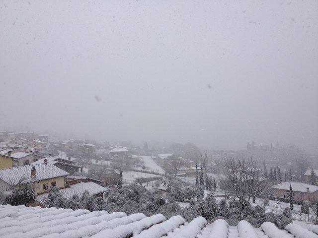 La neve è arrivata a casa di Fonzie