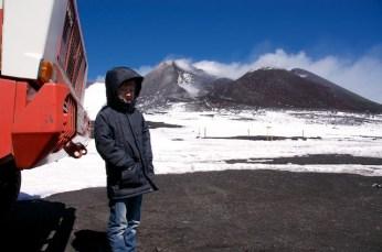 Yves sull'Etna
