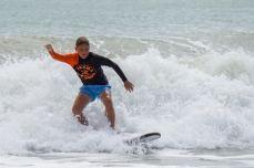 Grazie alla Rezha Surfschool sono bravissimo a surfare