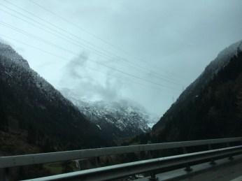 Ed eccoci al nord delle Alpi