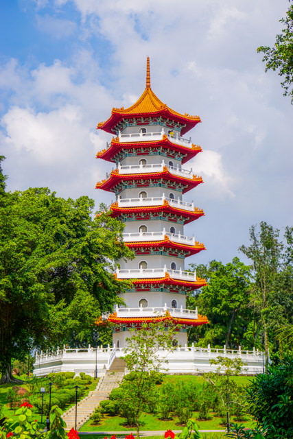 I can't wait to reach the top of the pagoda!
