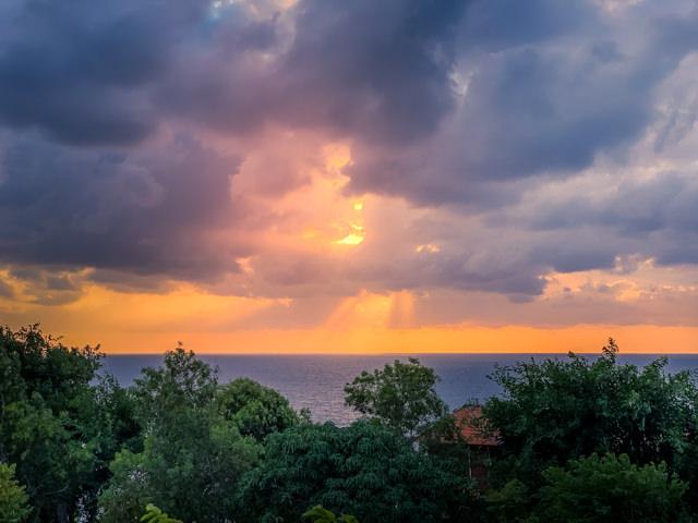 The sunrise is promising