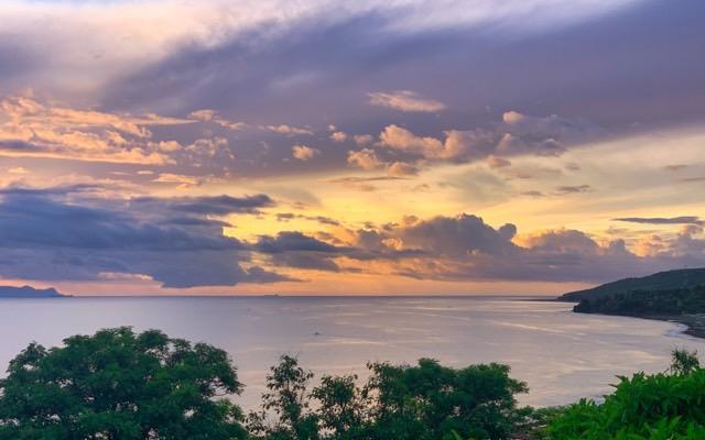 What a spectacular sunrise, again!