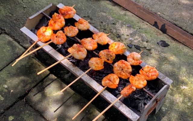 The shrimps look delicious