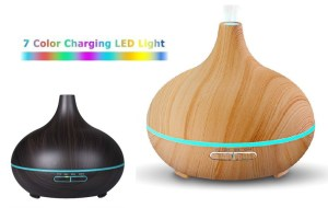 Ultrasonic Bulb Diffuser and Humidifier