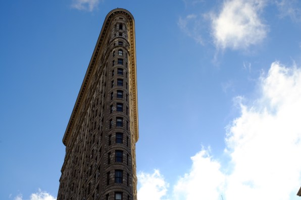 Flat Iron building, New York City