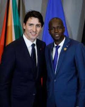 Trudeau & Jovenel Moïse