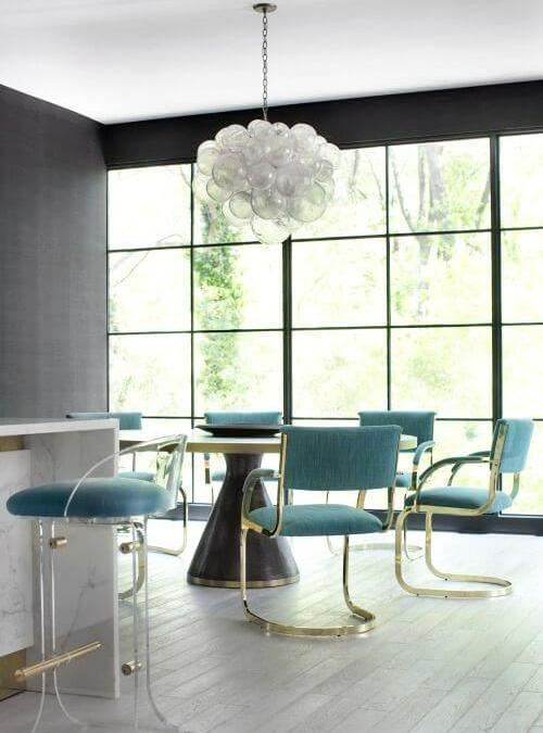 Modern Monday: Turquoise Dining