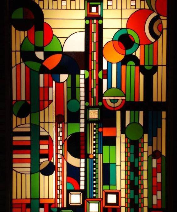 Fine Art Feature: Frank Lloyd Wright Art Deco Windows
