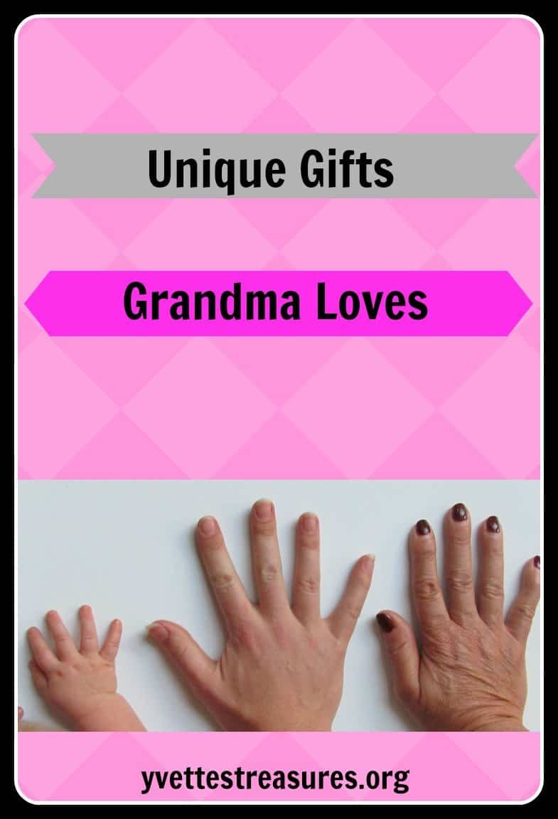 unigue gifts for grandma