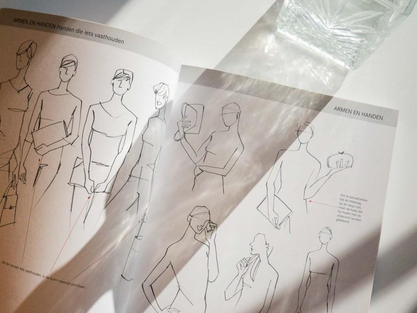 drawing fashion models book