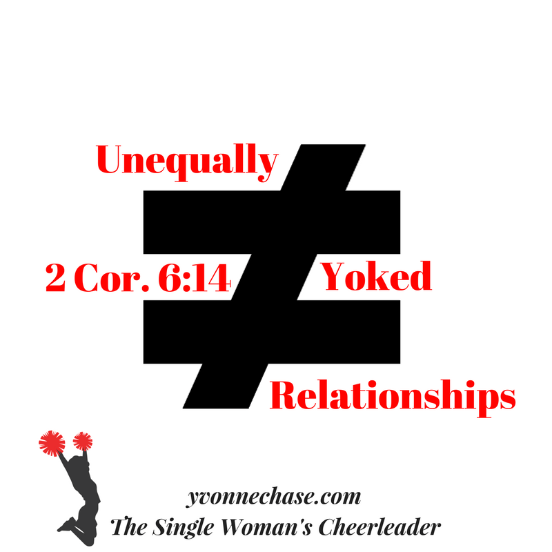 Do not be unequally yoked dating service