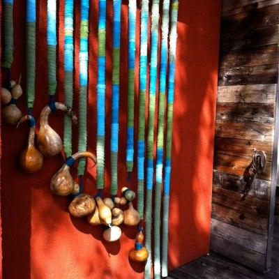 Found Fridays: hanging gourds