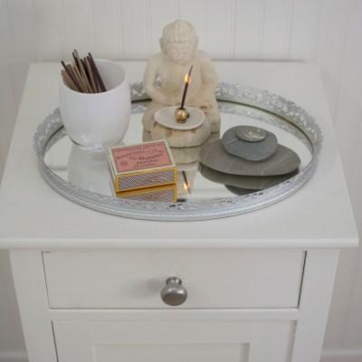 A DIY Incense Mirror Tray
