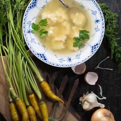 Italian Gnochetti Soup
