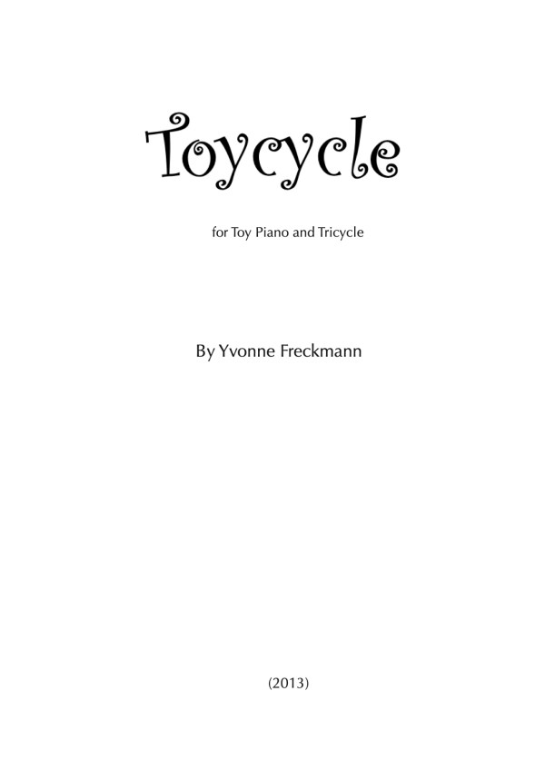 Toycycle cover