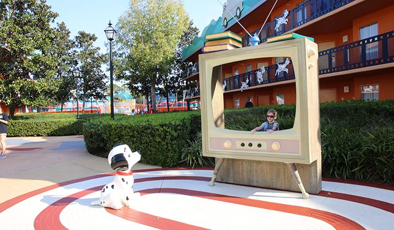 Utenfor Disney's All-Star Movies Resort