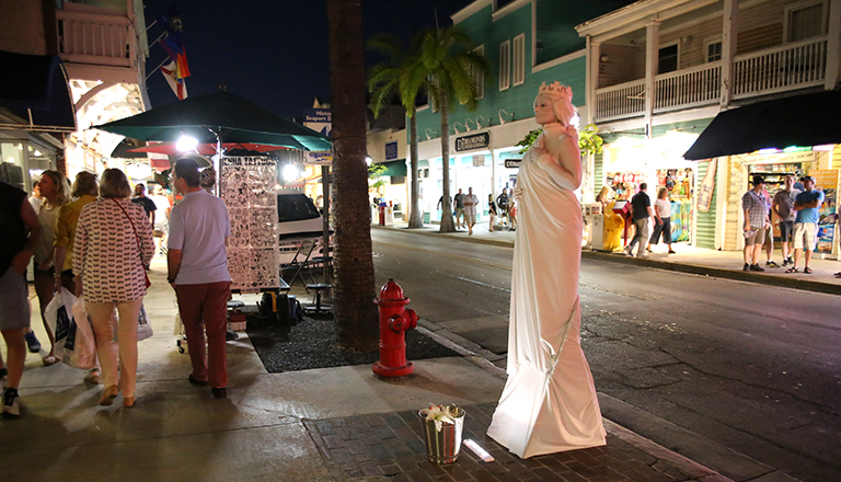 Duval Street.