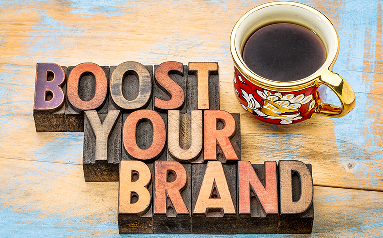 Illustrasjon - boost your brand