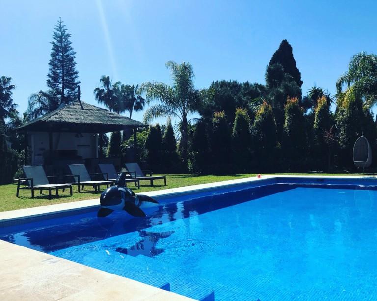 Basseng ved Villa-El-Yacuma
