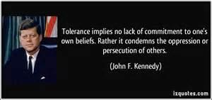 Tolerance Yvonne Newbold